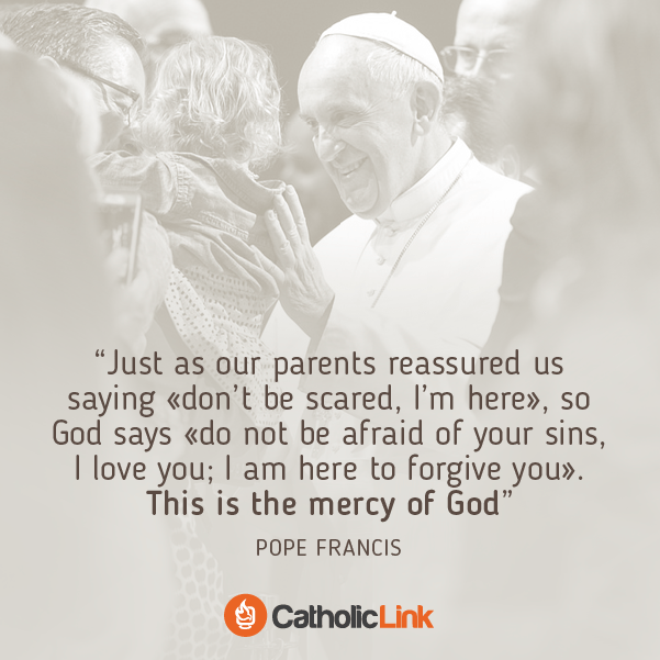 This Is The Mercy Of God | Pope Francis Quote