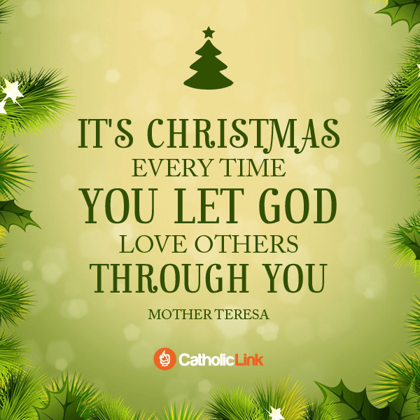The Meaning Of Christmas According To Mother Teresa