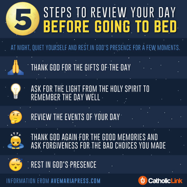 Review Your Day With These 5 Steps Before Going To Bed