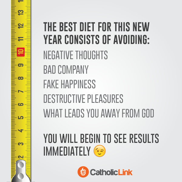 The Best Spiritual Diet For The New Year