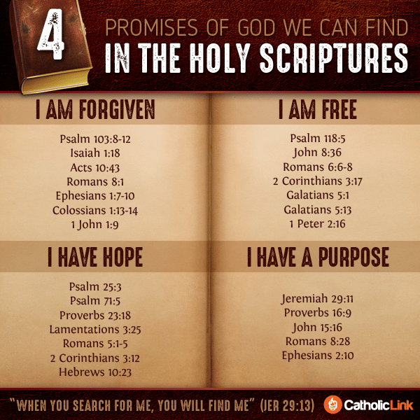 4 Promises Of God We Can Find In The Holy Scriptures