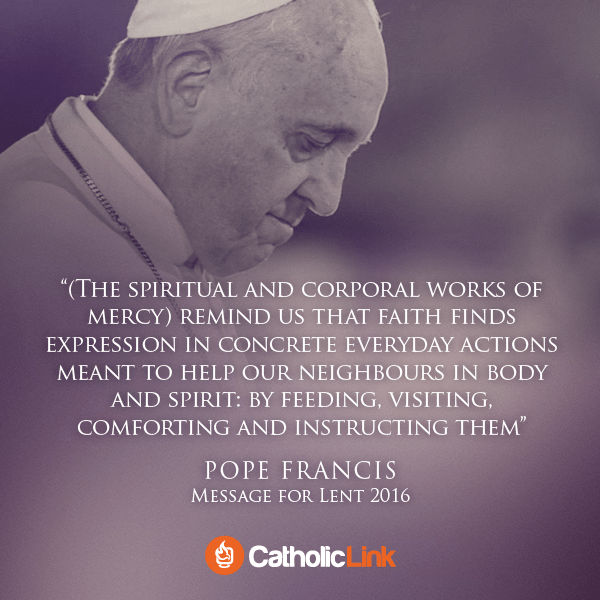 Pope Francis' Message for Lent