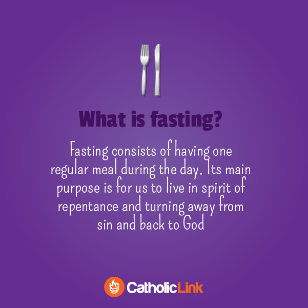 Why Do We Practice Fasting And Abstinence? | An Illustrated Guide