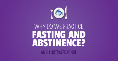 Why Do We Practice Fasting and Abstinence? (Illustrated Guide!) Catholic Lent