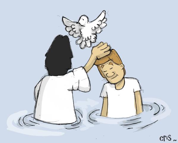 Baptism John the baptist