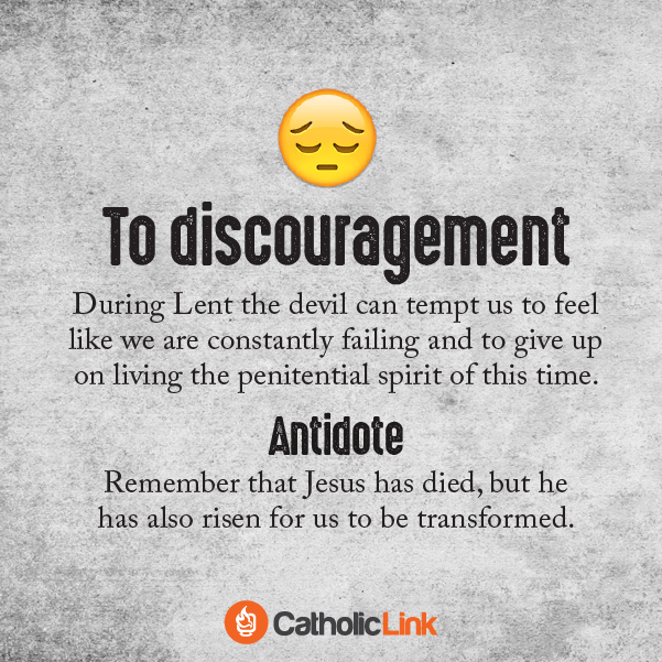 Infographic: 5 Temptations from the Devil During Lent How to do lent and ash wednesday