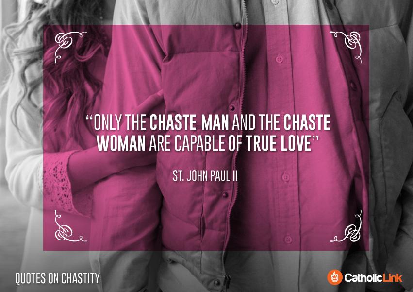 10 Catholic Quotes On Chastity St. John Paul II