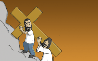 My Life and the Stations of the Cross: 14 Moments with Jesus (Infographic)