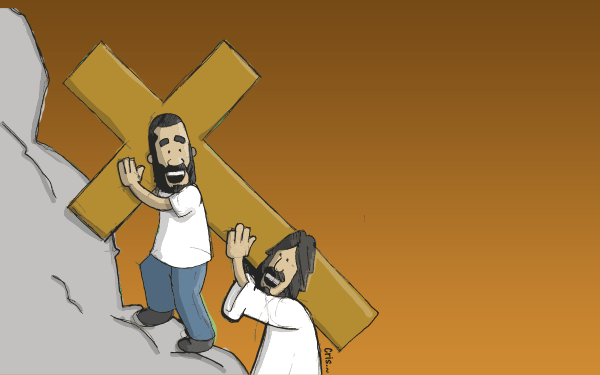 Stations of the Cross: 14 Moments with Jesus (Infographic)