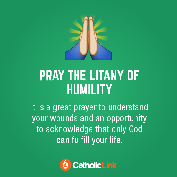Litany of Humility Examination of Conscience How To Go To Confession Visual Guide