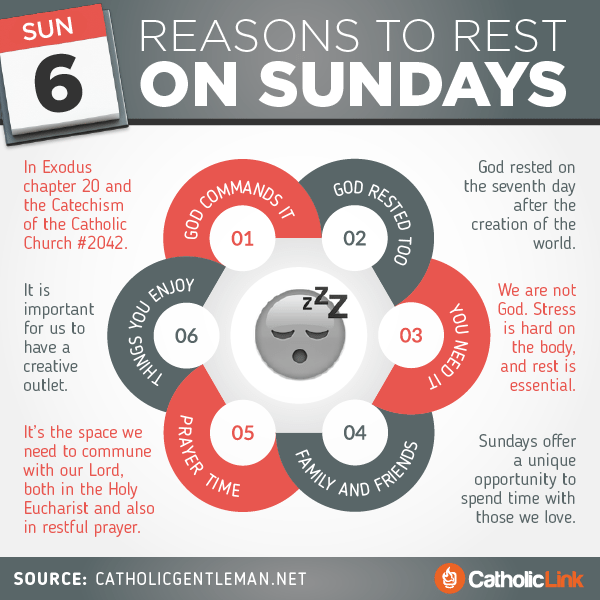 6 Reasons To Rest On Sundays