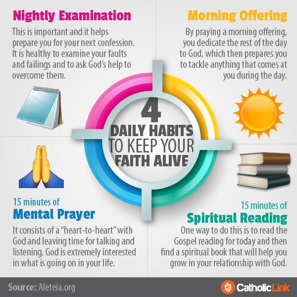 4 Daily Habits To Keep Your Faith Alive!