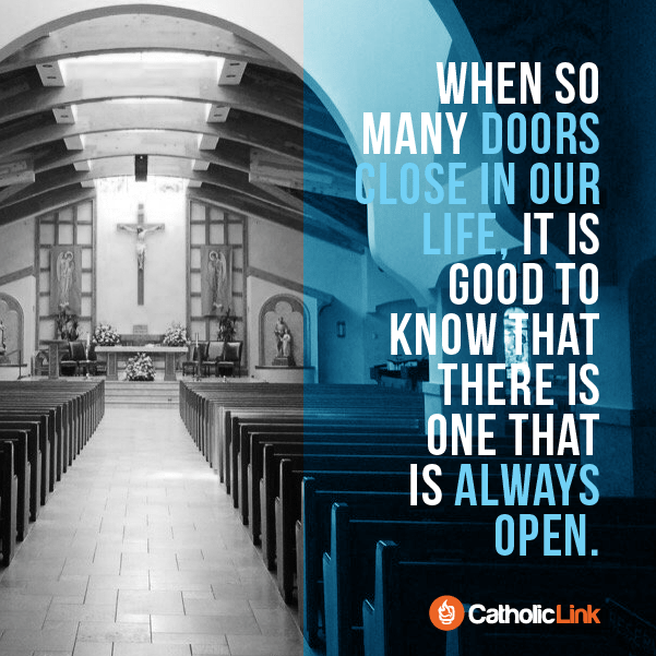 The Door To God's Heart Will Always Be Open For Us Catholic Quote