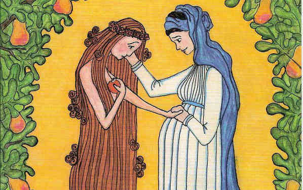 6 Things To Notice About Mary And Eve In This Beautiful Image