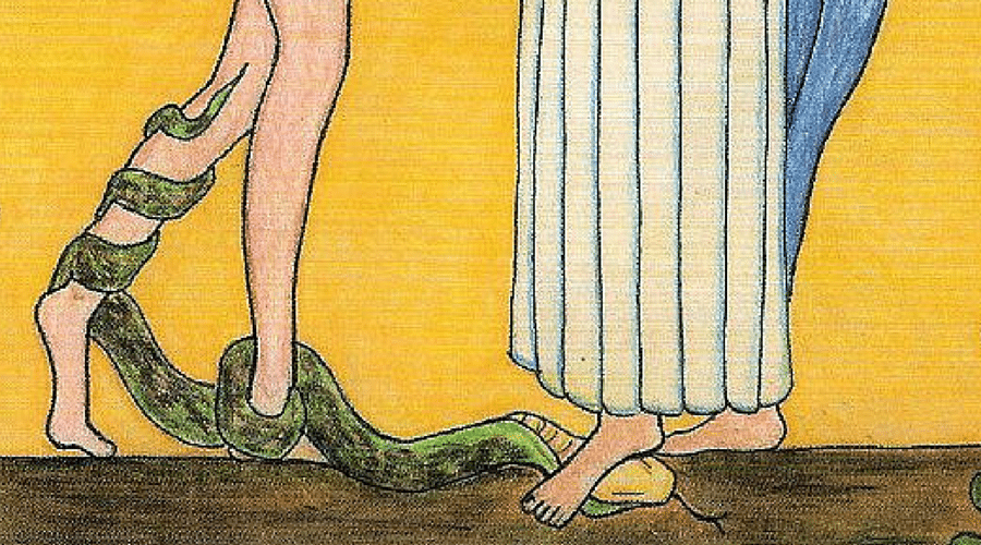 Serpent 6 Things To Notice About Mary And Eve In This Beautiful Image