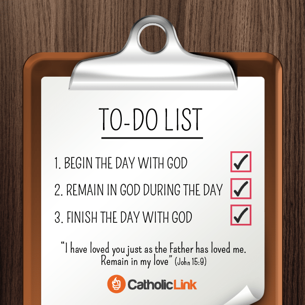 A Catholic's Daily To-Do List