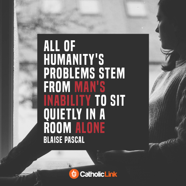 All Of Humanity's Problems Stem From This...According To Blaise Pascal