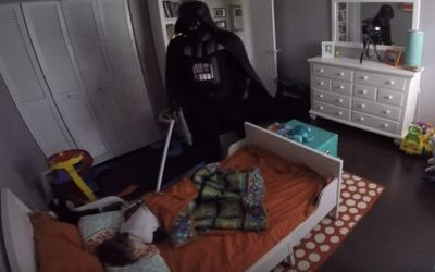 What This Video with a Battle Between Darth Vader and a Toddler Can Teach Us About Evangelization