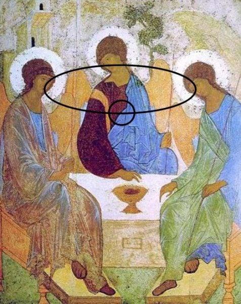 Trinity Icon Rublev Altar