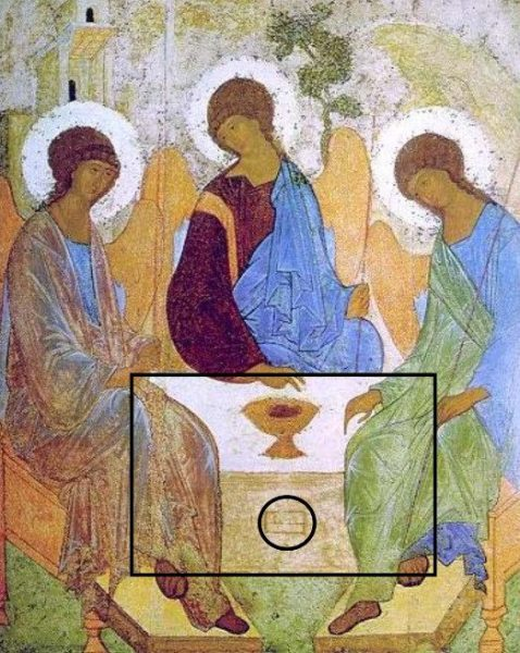Trinity Icon Rublev Martyr