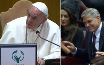 George Clooney, Salma Hayek and Richard Gere invited to the Vatican by Pope Francis