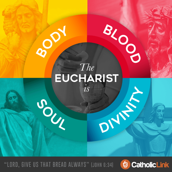 What Is The Eucharist? Body Blood Soul and Divinity