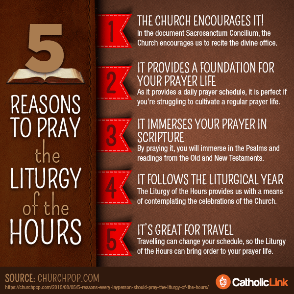 5 Reasons To Pray The Liturgy Of The Hours