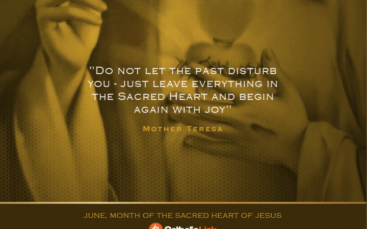 St. Mother Teresa Quote on Sacred Heart of Jesus