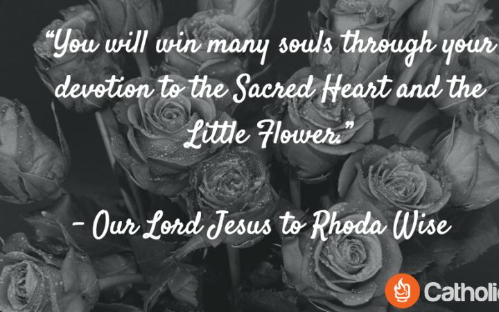 Rhoda Wise Quote Little Flower