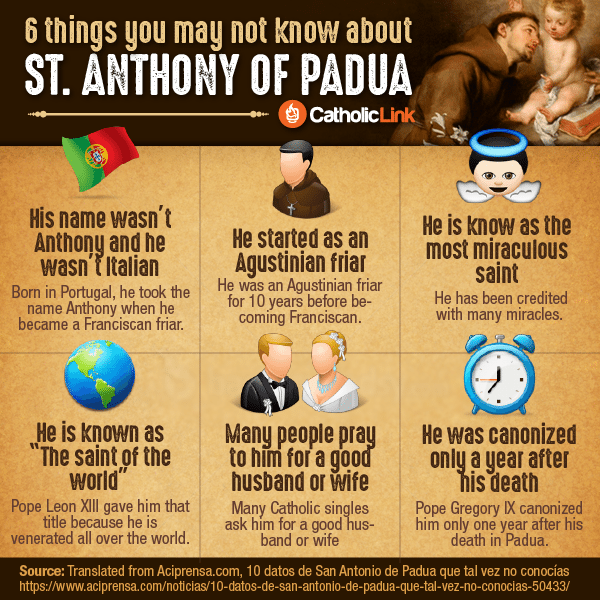 Do you know these details from the life of St. Anthony? He's more than just the patron saint of lost things!