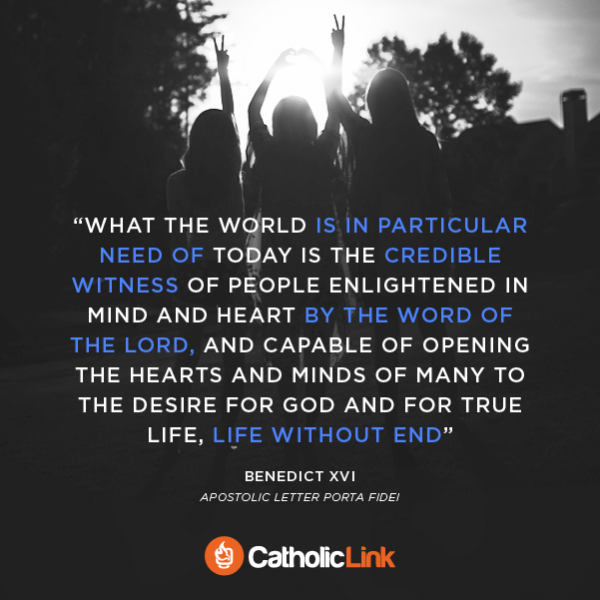 Quote What The World Needs According To Pope Emeritus Benedict XVI