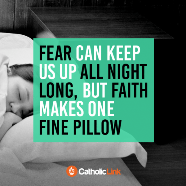 Quotes, infographics, memes and more Catholic resources for the New Evangelization. Faith Makes One Fine Pillow