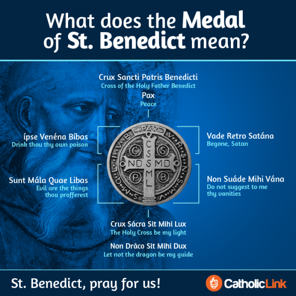 What Does The Medal Of St. Benedict Mean?