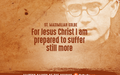 A Collection Of Quotes From Martyred Saints St. Maximilian Kolbe