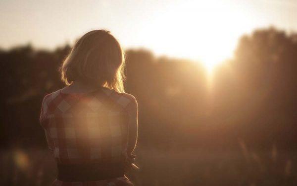 1 Girl Sunset