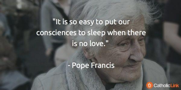 Loving Elderly Pope Francis