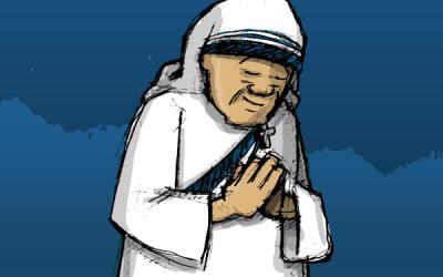 The Spiritual Journal Of Mother Teresa Illustrated!