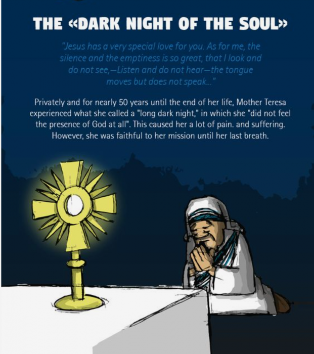 Take a tour of Mother Teresa's life with our infographic of the life and spiritual journal of Mother Teresa.