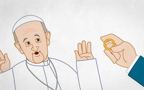 Holy Father, I Want to Get a Divorce.   The Pope Francis Minute