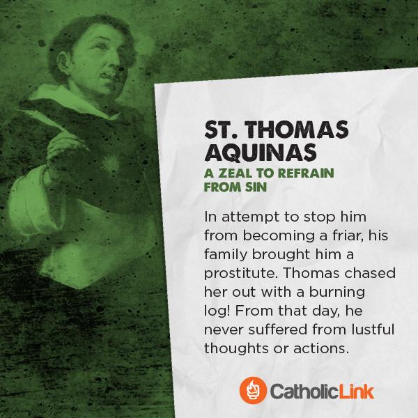 St. Thomas Aquinas Saints Porn Battle