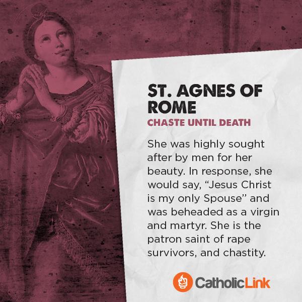 St. Agnes of Rome Saints Porn Battle