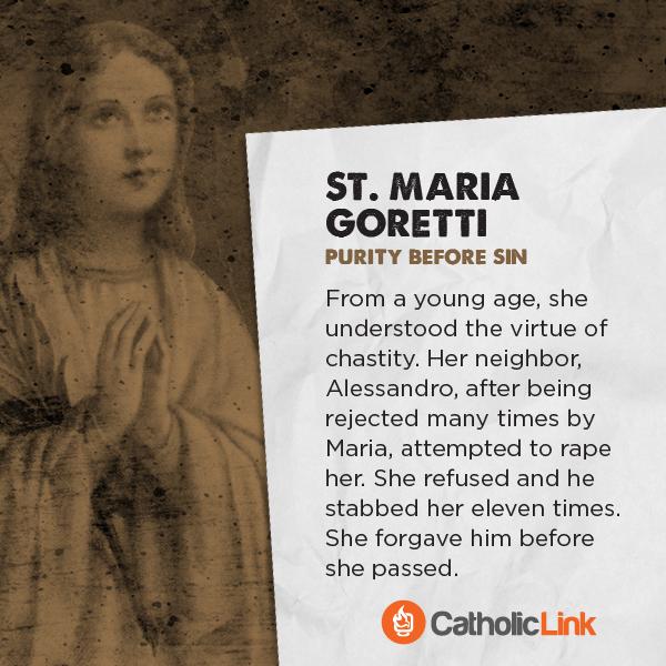 St. Maria Goretti Saints Battle Porn