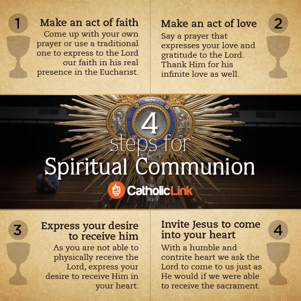 4 Steps For Making A Spiritual Communion