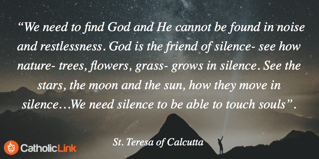 St Teresa Silence