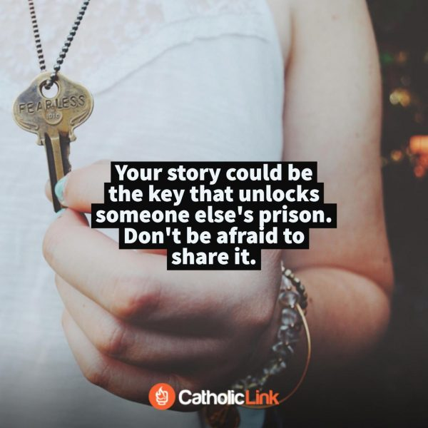 Don't Be Afraid To Share Your Story