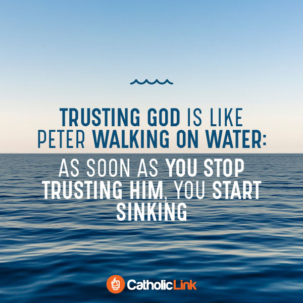 Trusting God Is Like Peter Walking On Water