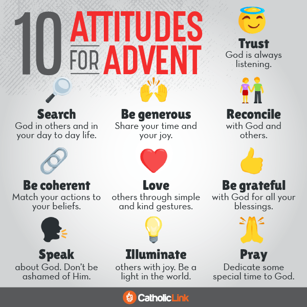 10 Attitudes for Advent Catholic