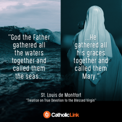 """God Gathered All His Graces And Called Them""""Mary"""""""