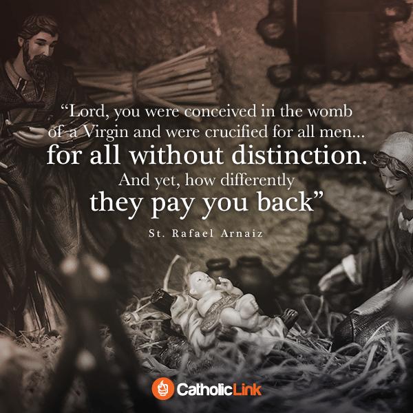 Saint Quote on Birth of Christ