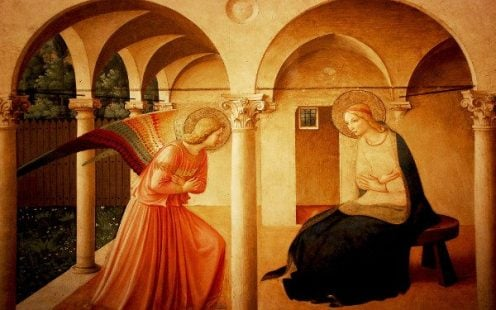 Joyful annunciation 5 Works Of Art To Help You Pray The Joyful Mysteries Of The Rosary